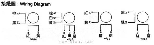 42bygh系列步进电机接线图