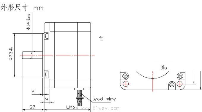 75千瓦电机四级60槽1-14接线图
