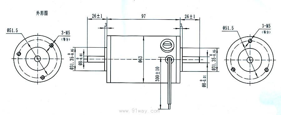 63zyt系列永磁直流电机