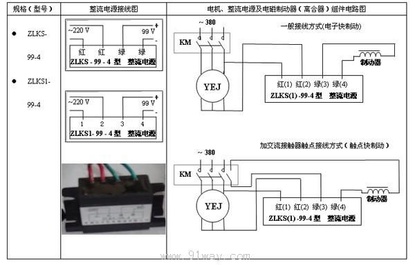 图中km触点为外接接触器(控制电动机的电源通断接触器)触头,当电路