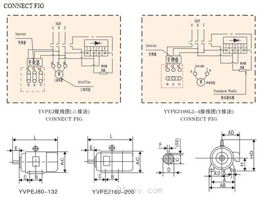 双速三相异步电动机接线图
