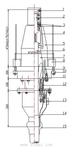 插拔式gis终端适用于电力电缆与高压变压器的连接