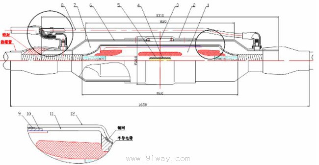 YJJJI2,.YJJTI2/YJ系列64/110kV硅橡胶整体预制中间接头型号: YJJJI2/YJ (绝缘型) YJJTI2/YJ (直通型) 产品特点: 1、接头采用冷缩安装技术,有以下优点: (1)现场安装方便; (2)接头绝缘界面不会因电缆外屏蔽摩擦而残留半导电颗料; (3)接头扩张均匀,不会因过度扩张而导致接头撕裂; 2、接头内高压屏蔽采用特殊工艺,关键处没有合模缝,运行时不会出现电树。 3、产品采用三层复合结构,外屏蔽层采用注射工艺成型,与喷涂工艺相比,外屏蔽层表面电阻低,接地可靠。 4、产