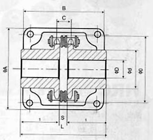 KC型滚子链联轴器