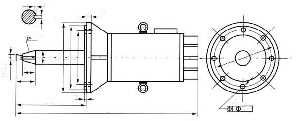 ygkp罩式退火炉用风冷变频调速电动机外形尺寸
