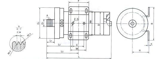 zyp系列永磁直流跑步机电动机