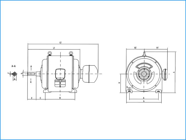 jr三相电机转子接线图