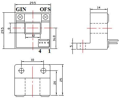 cs200y系列霍尔电流传感器