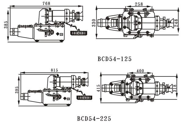 首页 特种电器 防爆接线盒 → bcd54-125型防爆插接装置   产品