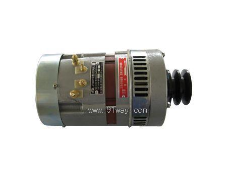 jf1000y硅整流发电机说明: 额定功率1kw;额定电压24/36v;额定电流33.