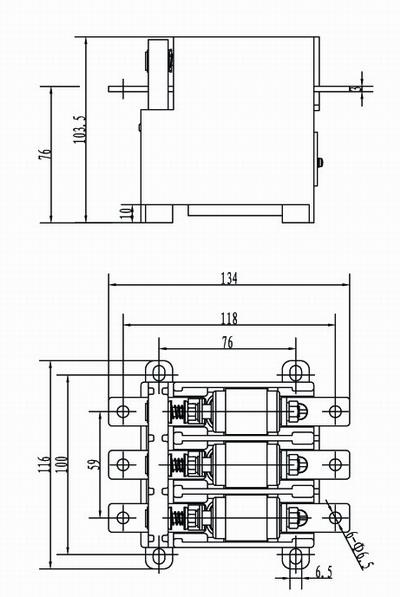 14型交流真空接触器
