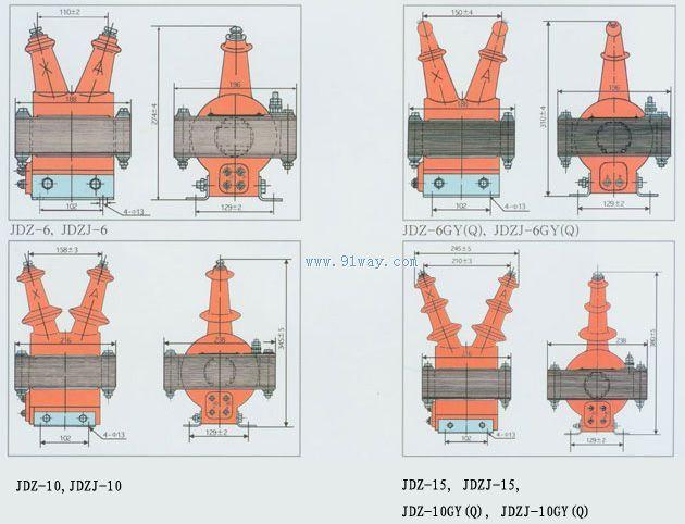 jdzj-15 电流互感器,电流互感器,电流互感器原理,电流互感器接线图