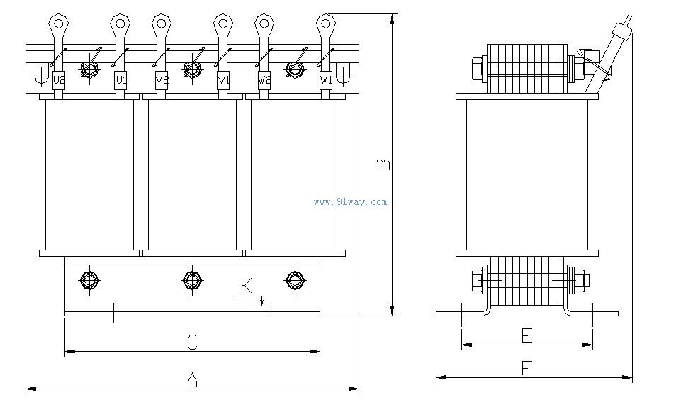 WTL系列高效率三相异步电动机大部分采用全国统一设计方案(YX3系列),达到国家能效标准GB18613的高效率水平,相当于IEC60034-30的IEZ级或欧洲EFFI级能效水平。 安装尺寸等同Y、Y2系列,便于替代升级。  WTL系列高效率三相异步电动机