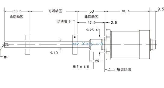 ktr微型自复位系列位移传感器  jr20系列干簧管位移传感器  jm系列
