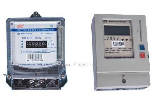 ddsy105型单相电子式预付费电能表