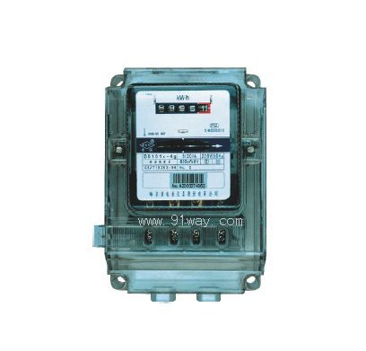 dd101型单相电能表