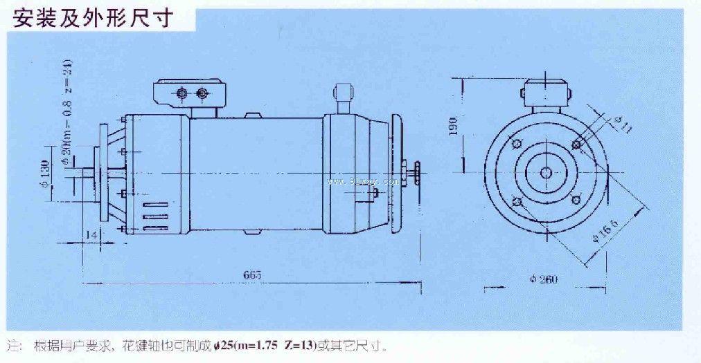 ylew112涡流调速力矩电动机