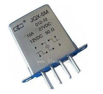 jqx-5m型小型强功率密封直流电磁继电器