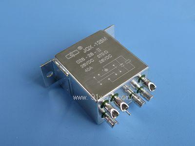 jqx-125m型小型强功率直流电磁继电器(7222)