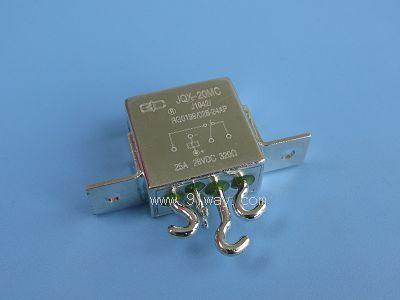jqx-20mc型小型强功率密封直流电磁继电器(7216)