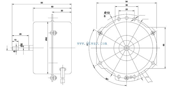 yyhs1-45电梯风机电机(风扇)