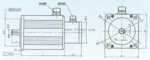 stx型永磁交流伺服电机