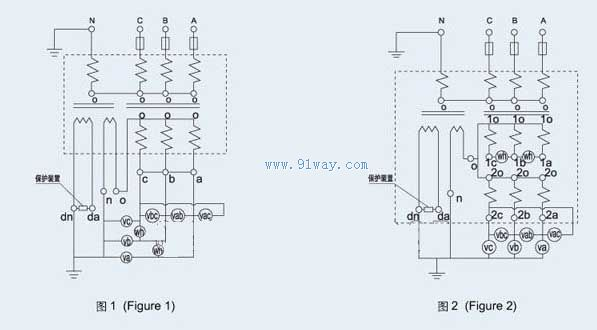 jszjk-10q三相抗铁磁谐振电压互感器图片