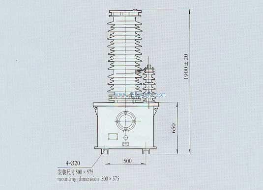 首页 高压电器 高压互感器 66kv电压互感器 → tyd66高压电压互感器