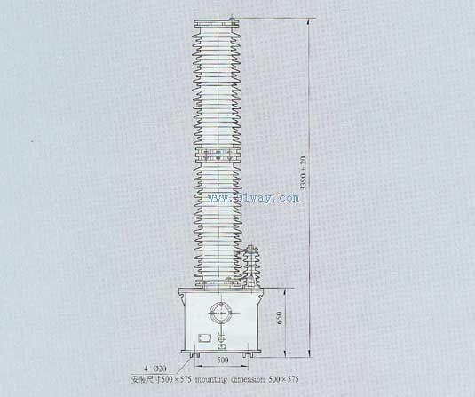 tyd220-220kv电容式电压互感器