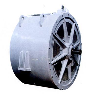 将我公司传统的同步主发电机结构与先进的电机制造