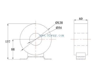 ldcj1-35穿心式电流互感器