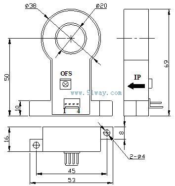csm300e系列霍尔电流传感器电参数