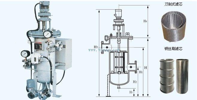 SRB-QZ型(SQZ)全自动清洗过滤器和全自动过滤器克服传统过滤产品的纳污量小、易受污物堵塞、过滤部分需拆卸清洗且无法监控过滤器状态等众多缺点,具有对原水进行过滤并自动对滤芯进行自动清洗排污的功能,且清洗排污时系统不间断供水,自动化程度很高。是一种利用滤网直接拦截水中的杂质,去除水体悬浮物、颗粒物,降低浊度,净化水质,减少系统污垢、菌藻、锈蚀等产生,以净化水质及保护系统其他设备正常工作的精密设备,水由进水口进入自清洗过滤器机体, 由于智能化(PLC、PAC)设计,系统可自动识别杂质沉积程度,给排污阀信号