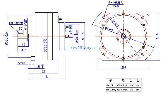 首页 电机产品 测速电机 测速机组 → 160lcx系列稀土永磁直流力矩