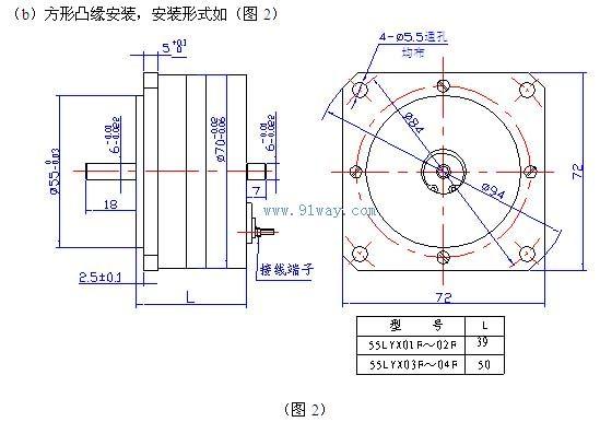 55lyx系列稀土永磁直流力矩电动机