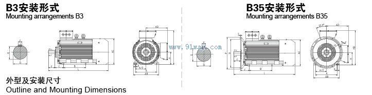 Y2-400低压大功率三相异步电动机为全封闭自扇冷式鼠笼型转子三相异步电动机是采用新材料、新工艺、先进技术设计而成,其功率等级及安装尺寸符合IEC标准。电动机额定电压为380V(可根据用户定制)额定频率为50Hz,冷却方式为IC411,连续工作制S1,聚友IMB3、IMB35两种安装形式。可广泛应用于驱动无特殊性能要求的各种大功率机械设备,如机床、水泵、风机、压缩机、运输机、搅拌机、农业机械、冶金机械、矿山机械等