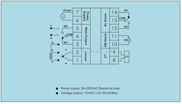tc3series温度控制器接线图