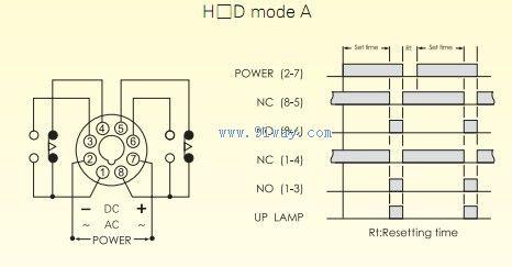 h4d数位式限时继电器接线图