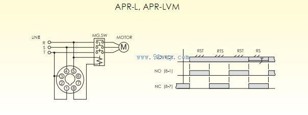 apr-l欠逆相保护继电器接线图