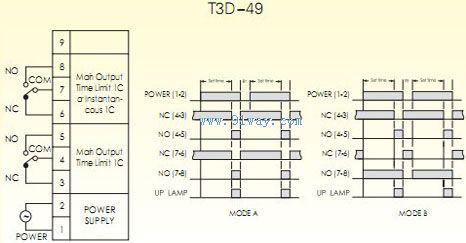 t3d-49数位式限时继电器接线图