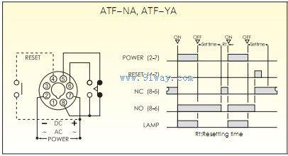 atf断电延迟继电器接线图