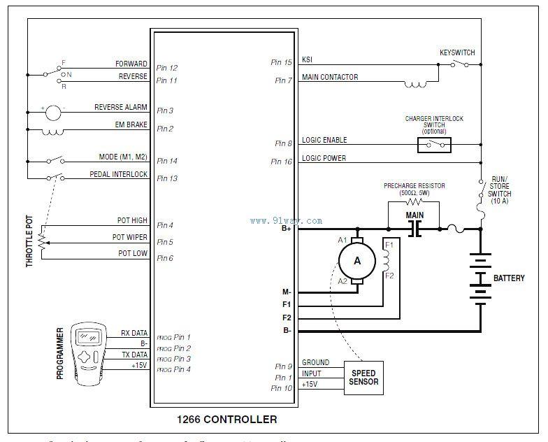 度控制器接线图