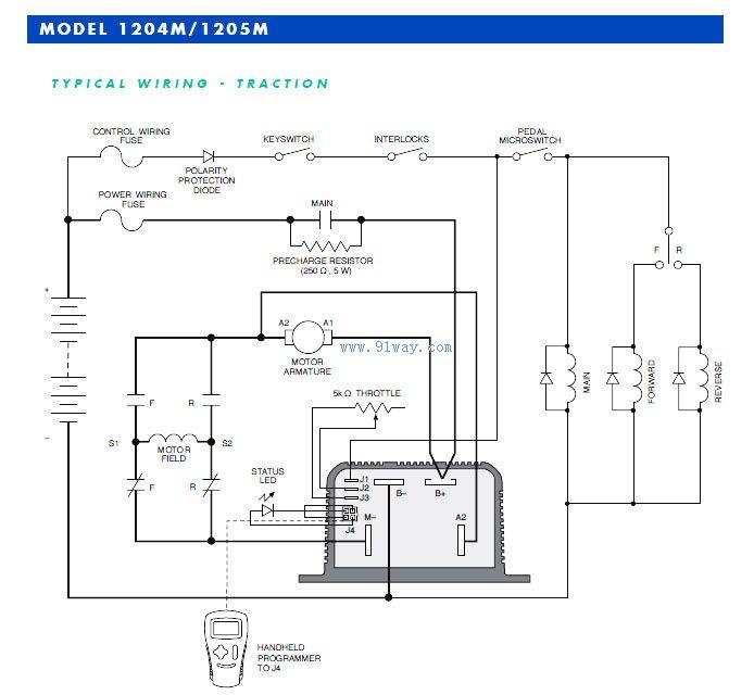 1204/1205/1209型串励电机速度控制器