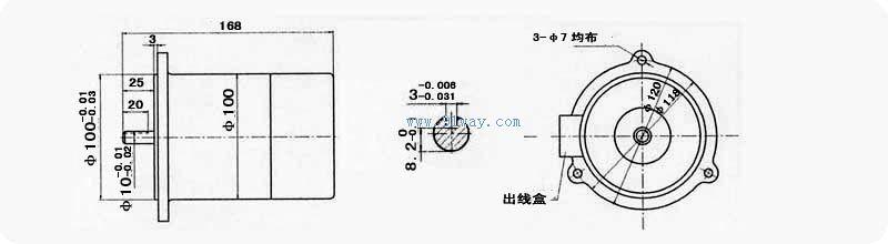 zyst-a系列永磁式直流测速发电机