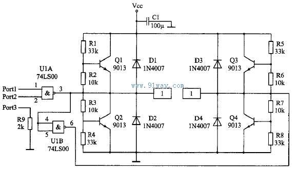 另外,如果使用了稳压管,三极管射极,集电极对电源和地的导线要尽可能