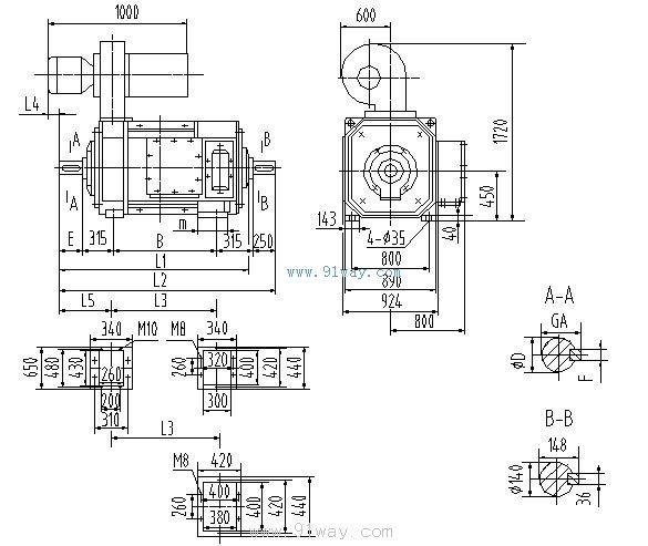 zyzj-450系列直流电动机