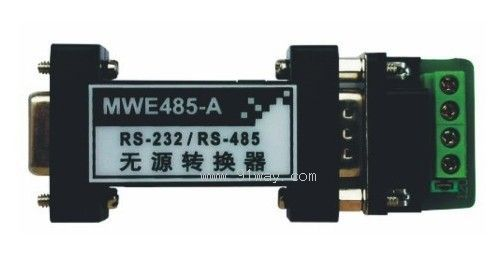 mwe485-a型rs-232/rs-485无源转换器