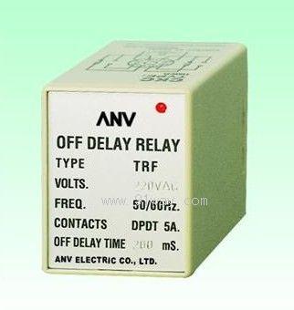 trf断电延迟继电器接线图与时序图