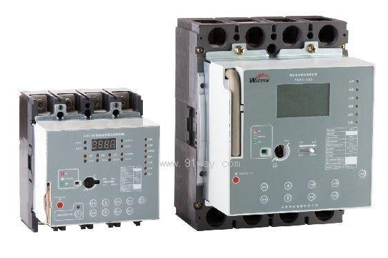 FAR1系列剩余电流重合闸断路器是把智能重合闸控制器和国内外各种漏电断路器或漏电带电子式断路器组合成的剩余电流重合闸断路器,特别适用于无人值守、高空、偏远地区等不便操作的城乡电网各级综合保护场合。 FAR1系列剩余电流重合闸断路器功能结构 分体式结构,适用各类断路器 具有过载及短路保护,且电流可整定 具有剩余电流保护 具有电源过、欠压保护 分断能力高、体积小、性能稳定,分合闸速度<1s 通信型产品具有遥讯、遥测、遥控、遥调双向通信功能 能适用于400A及以下各种环境,实现各类用电场合间接接触保护及自动重合