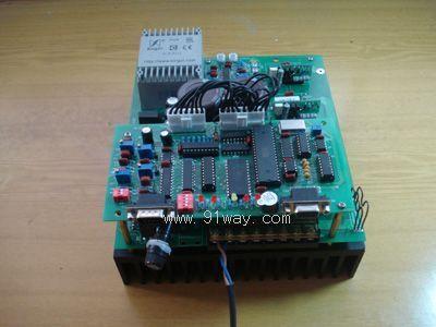 调速器采用直流电机测速机机组